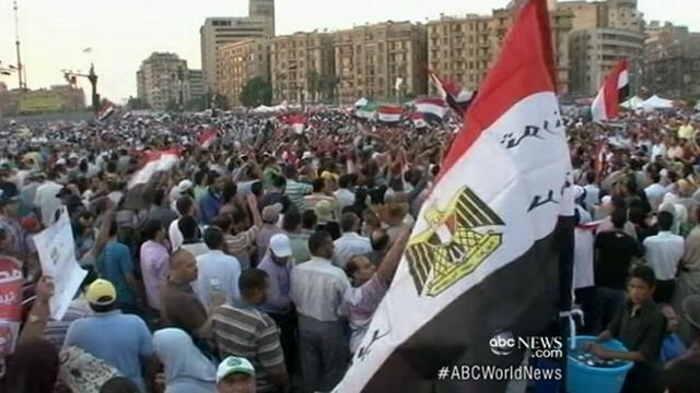 Tahrir Square Protests Grow Over Egypt Election