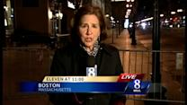 Boston residents pause for moment of silence