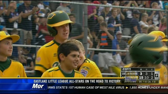 Eastlake Little League All-Stars on the road to victory