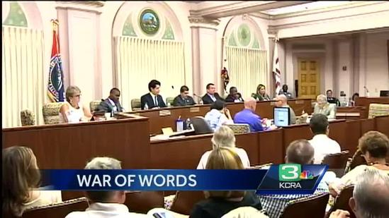 War of words continues between 2 Stockton leaders
