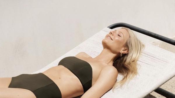 74b05402175 Gwyneth Paltrow models swimwear at 46