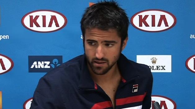 Tipsarevic withdraws after destroying foot