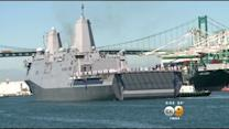 Navy Vessels Visits Port Of Los Angeles