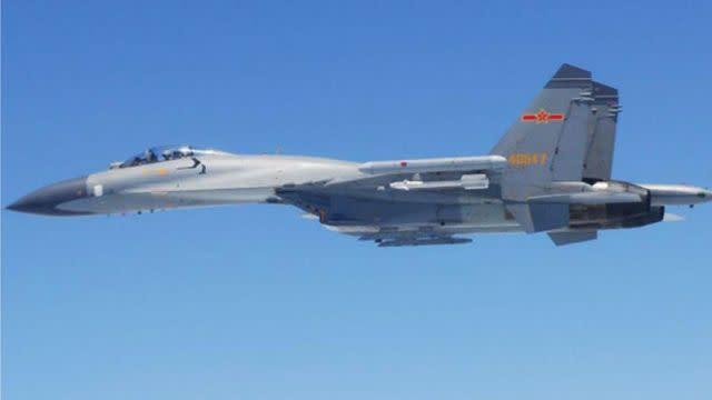Pentagon: Chinese jet threatened US Navy intelligence plane