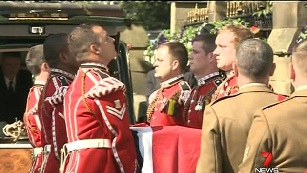 Military parade farewells Lee Rigby