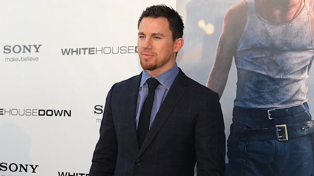 Video: Channing Tatum Talking About His Baby Girl and Holds a Puppy! Does It Get Any Sweeter?