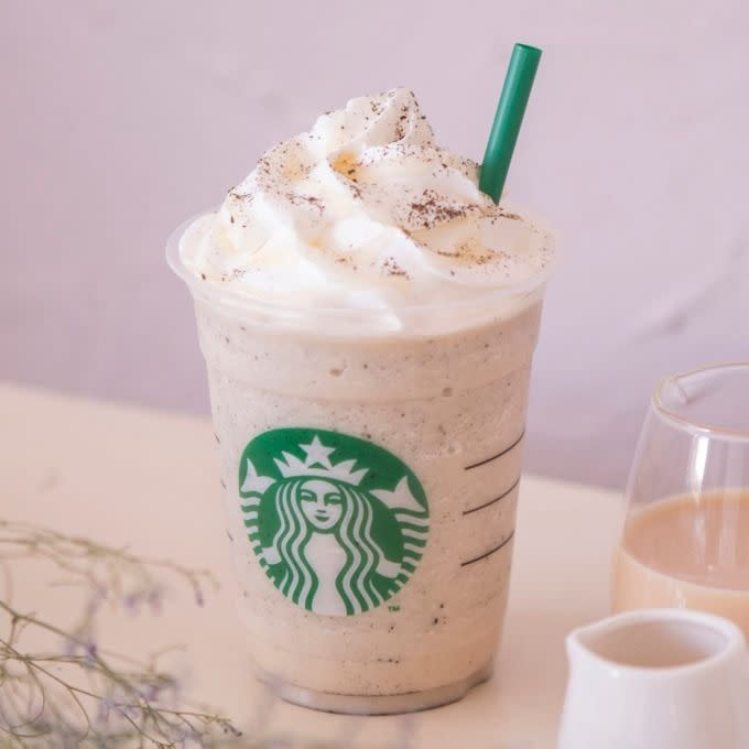 Starbucks Earl Grey Tea Cream Frappuccino