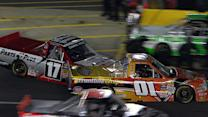 Contact and penalties plague pit stops