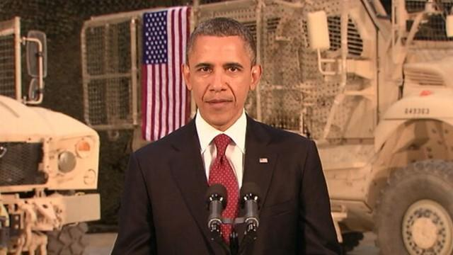 Obama: 'Afghans Responsible for Security'