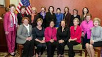 Women in Washington credited with opening budget talks