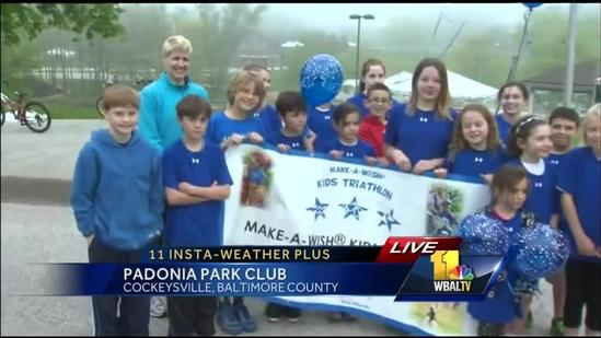 Ava previews Make-A-Wish Kids Triathlon