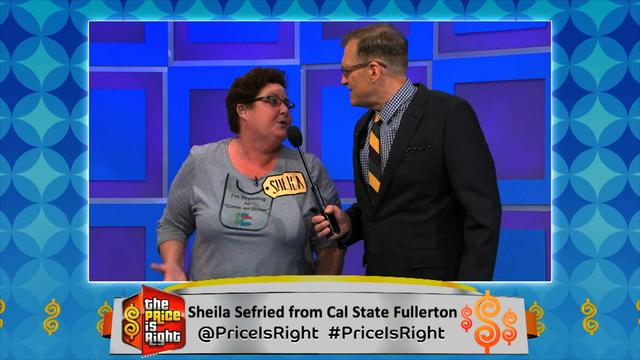 The Price is Right - Sheila from Cal State Fullerton