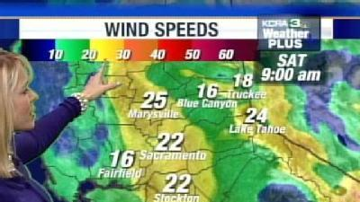 Expect Windy Weather On Saturday