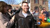 Palatine welcomes home local soldier