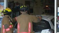 Man Drives Into Restaurant, Orders Pizza