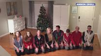 Siblings 'Sleigh' Festive Choreographed Christmas Dance for Fifth Year in a Row