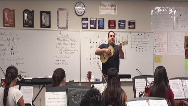 Mariachi making its mark in schools