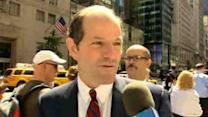Eliot Spitzer throws hat back in political ring
