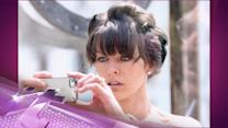 Entertainment News Pop: Milla Jovovich Takes Part in Performance Art Show