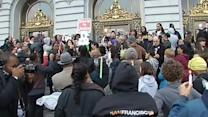 Rally for Trayvon held on steps of SF City Hall