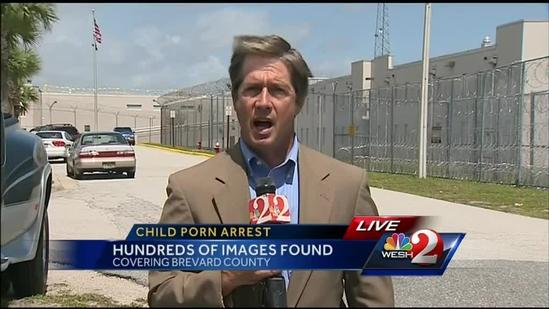 Titusville man accused of possessing more than 600 images of child porn