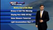 Thursday Morning Weather Webcast