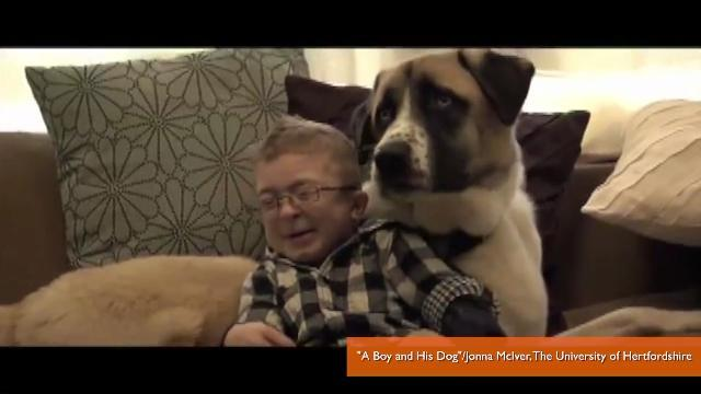 How a 3-Legged Dog and Limited-Mobility Boy Met and Fell in Love