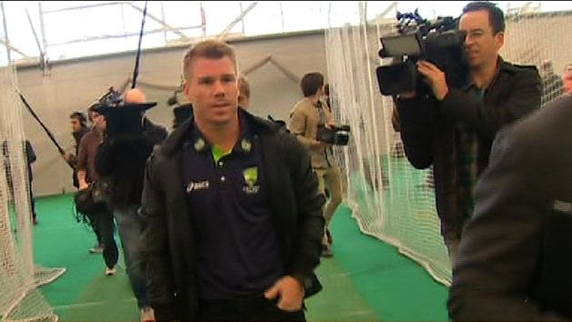Warner stood down
