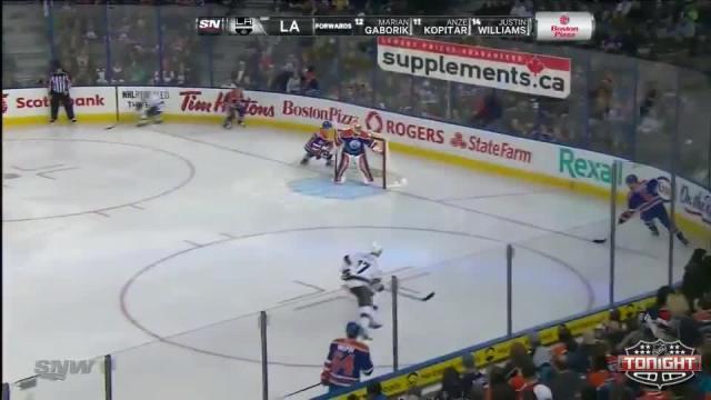 Los Angeles Kings at Edmonton Oilers - 03/09/2014