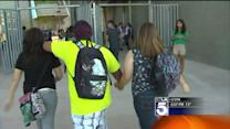 Returning School Students Greeted With Beefed Up Security