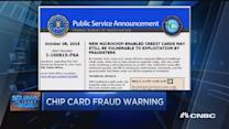 FBI issues credit card chip warning