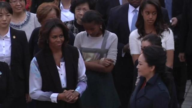 U.S. first lady in China visit