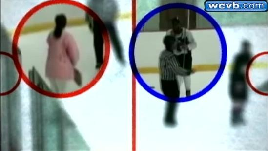 Lynn hockey mom who stormed ice speaks out
