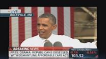 It's harder for small business to create jobs: Obama