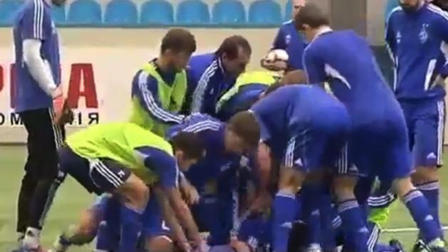 Striker punches teammate at training
