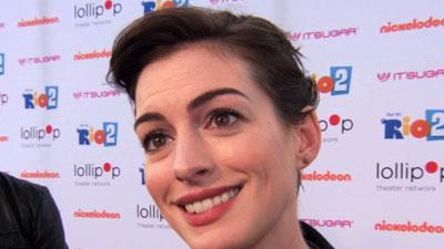 Hathaway Busts a Move for Children's Charity