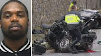 Driver ID'd in Wilmington crash that tore car in two (PHOTOS)