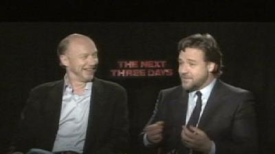 Gino Sits Down With Russel Crowe & Paul Haggis