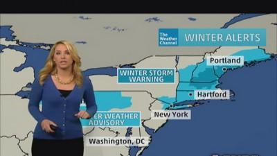 Heavy snow expected for New England