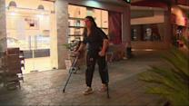 New technology allows paraplegics to stand up, walk