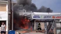 Viewer Video: Seaside Park boardwalk fire