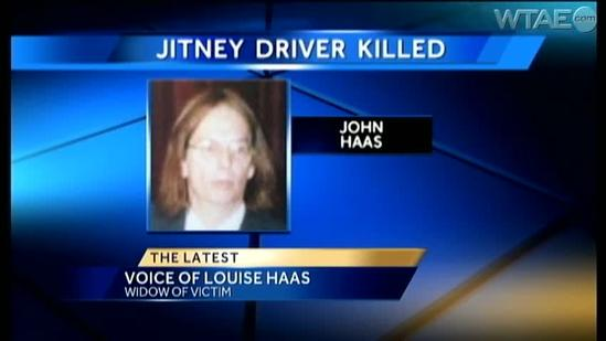 Slain jitney driver's wife wants justice