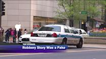 Woman lied about Magnificent Mile robbery