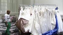 Hundreds of discount wedding dresses on sale for charity