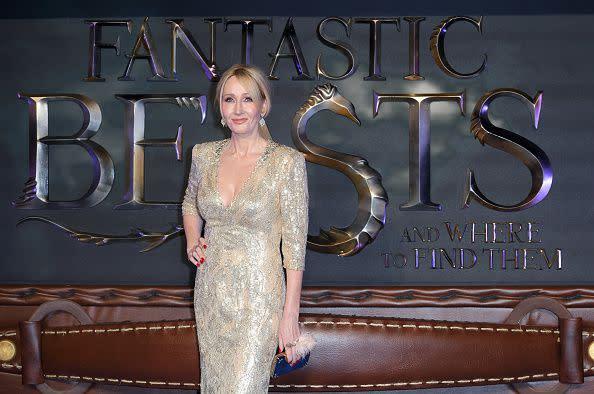 除了Harry Potter,她接下來的許多作品都被拍成電影,例如最近的Fantastic Beasts and Where to Find Them。