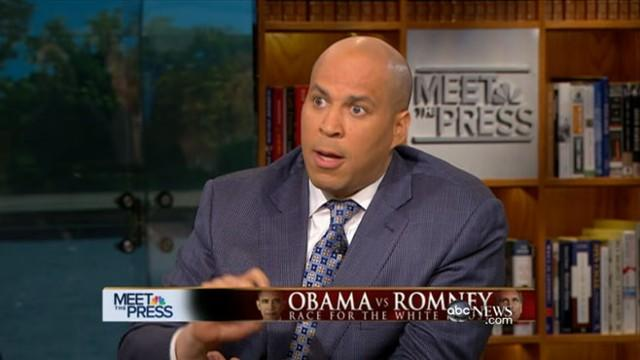 Cory Booker Disagrees With Obama on Private Equity