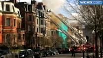 Uncut: Boston brownstone fire