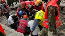 Video Shows Kenyan Woman Being Rescued From Rubble