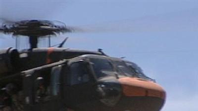 Blackhawk Helicopter To Help Fight Fire