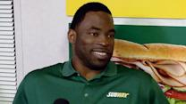 Justin Tuck Keeps It Fresh in New Orleans